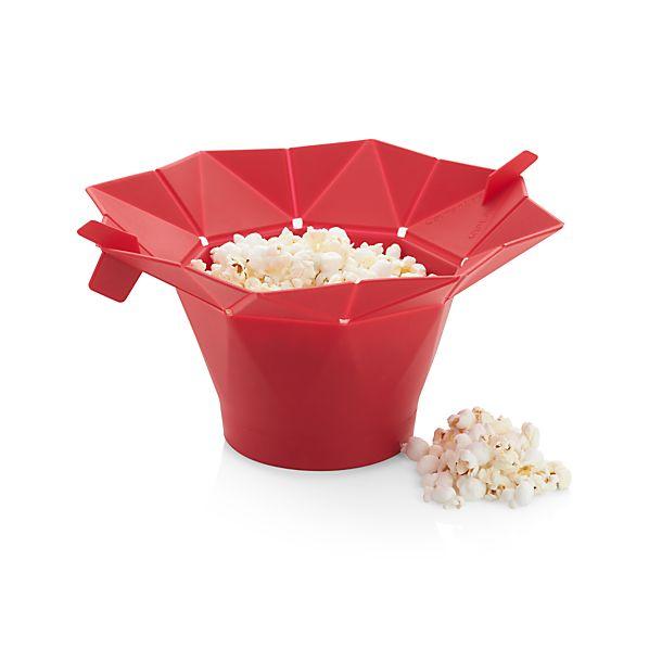 chef 39 n pop top microwave popcorn popper crate and barrel. Black Bedroom Furniture Sets. Home Design Ideas