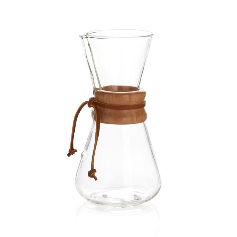 Chemex 3-Cup Coffee Maker Crate and Barrel