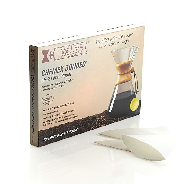 Set of 100 Chemex Half Moon Filters