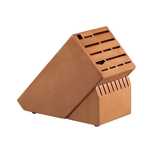 Cherry Finish 22 Slot Knife Block