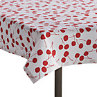 "Cherry 36""x36"" Picnic Tablecloth."