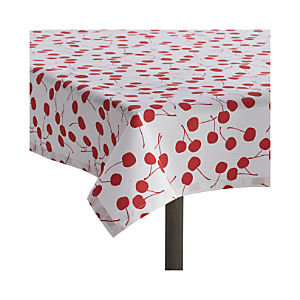"Cherry 36""x36"" Picnic Tablecloth"