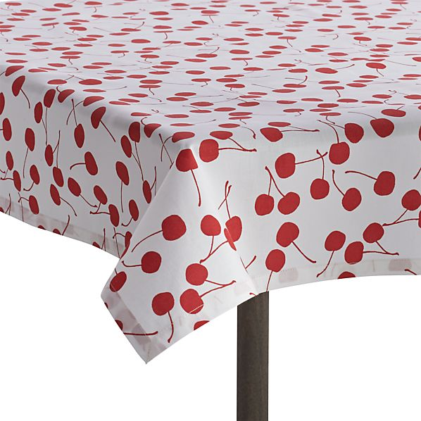 Cherry Picnic Tablecloth