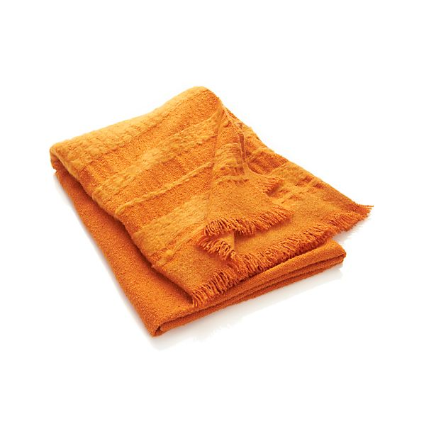 Chetwood Orange Throw
