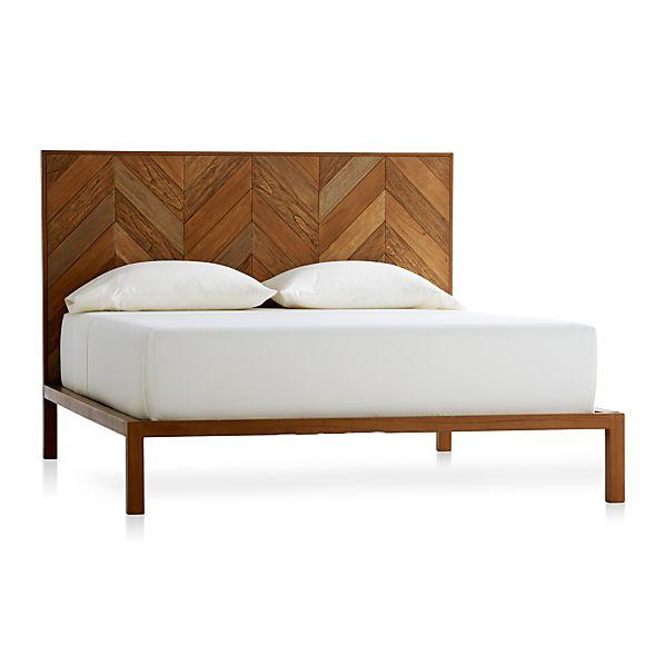 Chevron Queen Bed