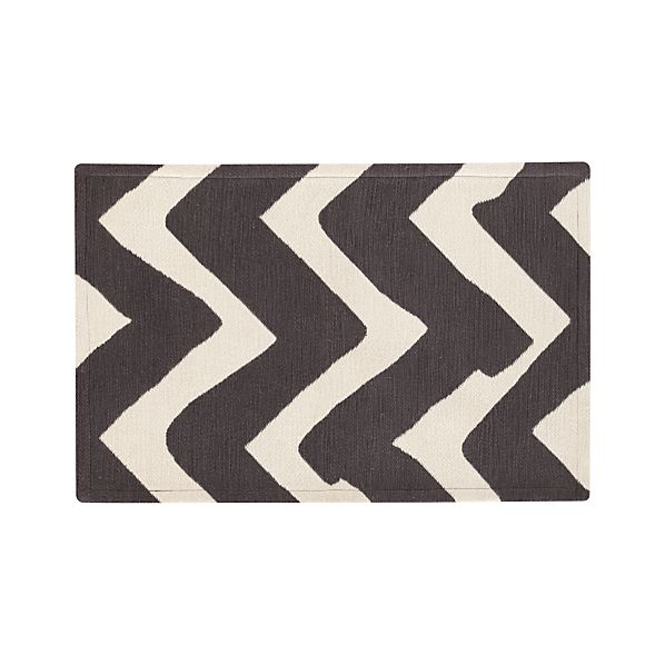 Chevron Outdoor 2'x3' Rug