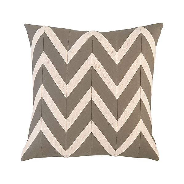 "Chevron Blush 18"" Pillow"