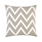 Chevron Off-White Pillow.