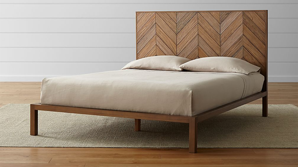 Http Www Crateandbarrel Com Chevron Bed F55223