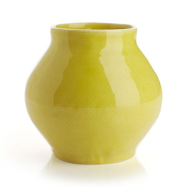 Chickadee Short Vase