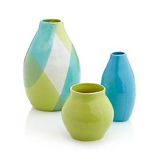 Chickadee Vases