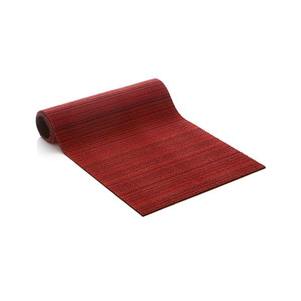 """Chilewich ®  Red 24""""x72"""" Runner Doormat"""