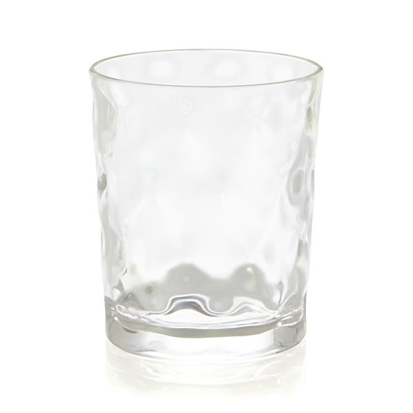 Chill Acrylic Double Old-Fashioned Glass