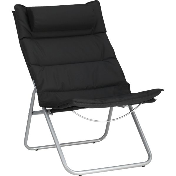 Chill Black Foldaway Chair