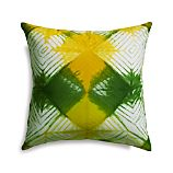 "Chisaki 18"" Pillow with Down-Alternative Insert"