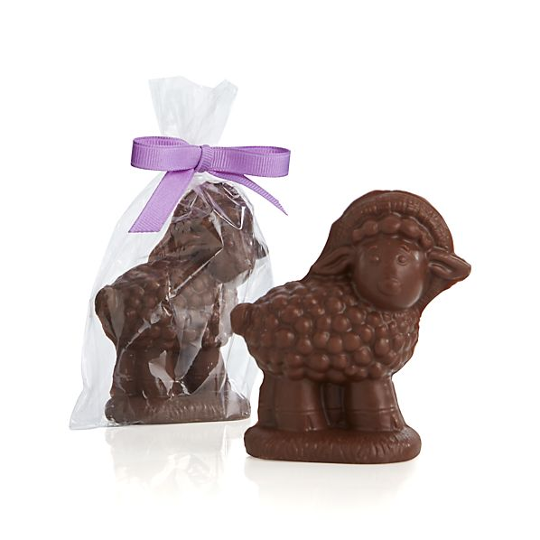 The Long Grove Confectionery Chocolate Little Lamb Placecard
