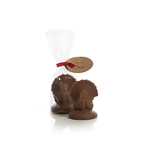 Chocolate Turkey Placecard Holder