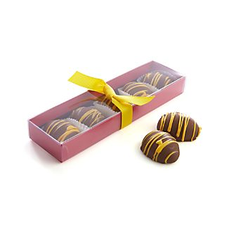 Set of 5 Chocolate Covered Peanut Butter Eggs