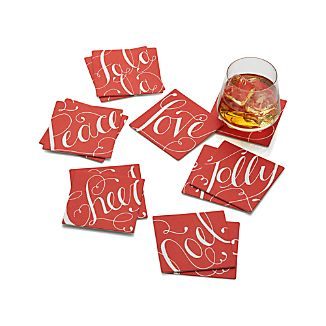 Christmas Coasters Set of 12