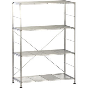 Chrome 4-Shelf Unit