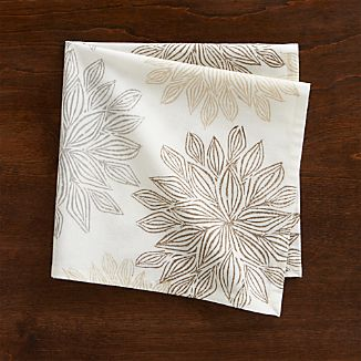 Chrysanthemum Neutral Napkin