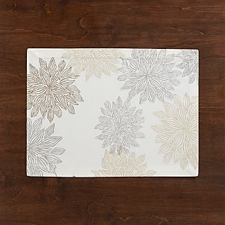 Chrysanthemum Neutral Placemat