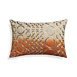 "Cirie 18""x12"" Pillow with Feather-Down Insert"