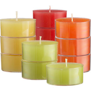 Set of 12 Citronella Tealight Candles