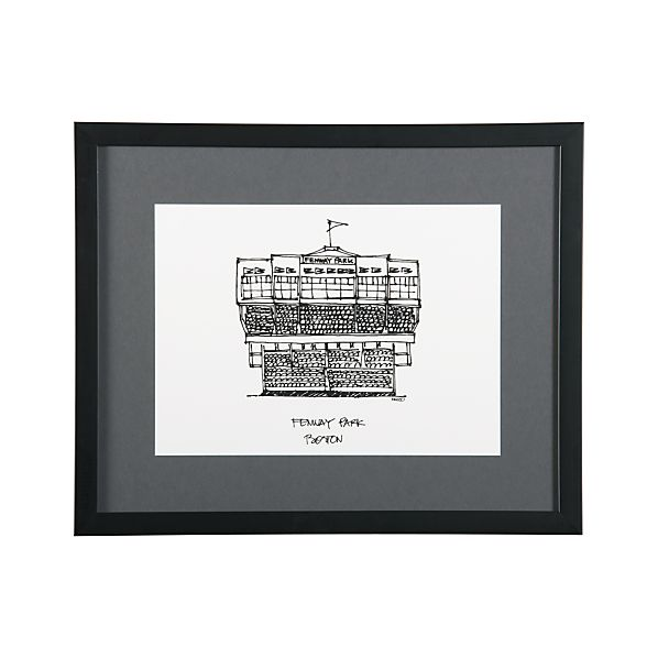 Cityscape Boston Print