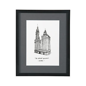 Cityscape Chicago Print