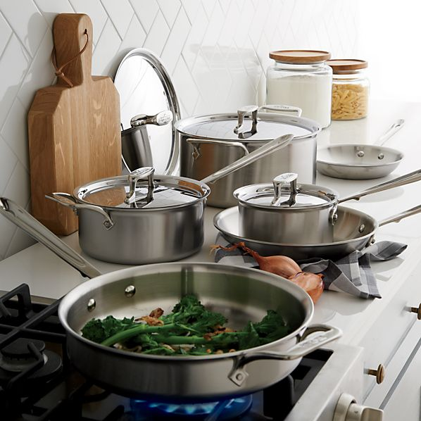 All-Clad ® Stainless 10-Piece Cookware Set