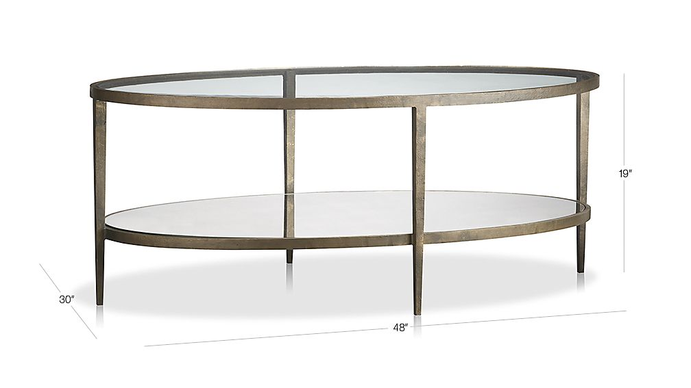 Clairemont Coffee Table Dimensions