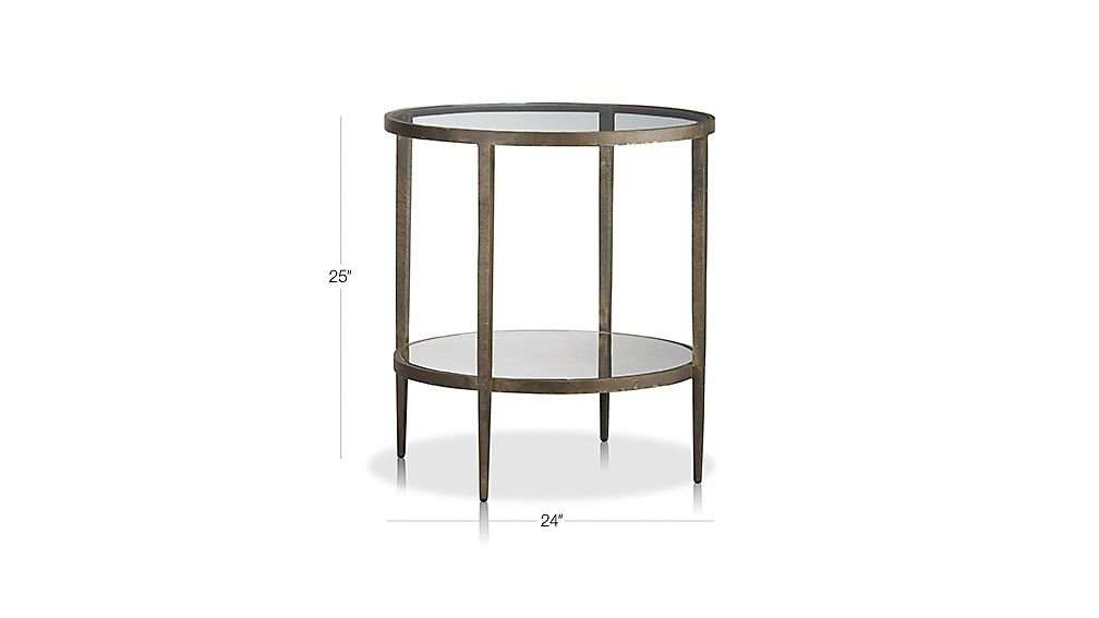 Clairemont Side Table Dimensions