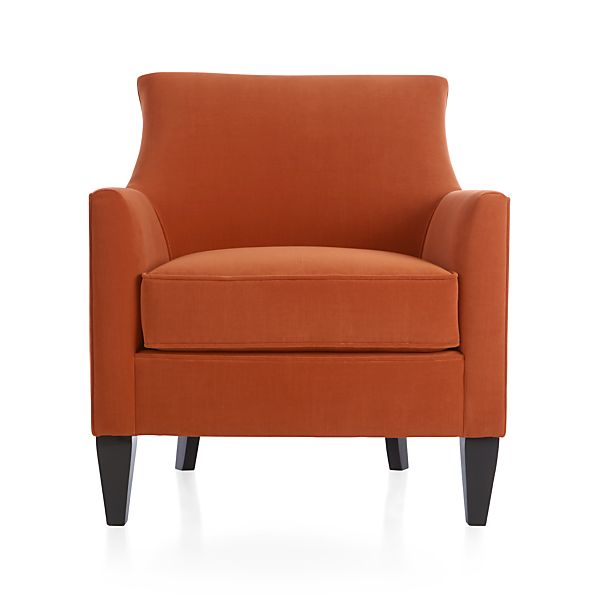 Clara Chair Sunset Crate And Barrel