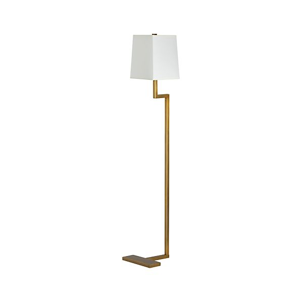 Page not found crate and barrel for Clare brass floor lamp