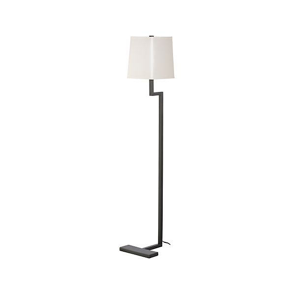 Clare Antiqued Bronze Floor Lamp in Floor Lamps, Torchieres ...