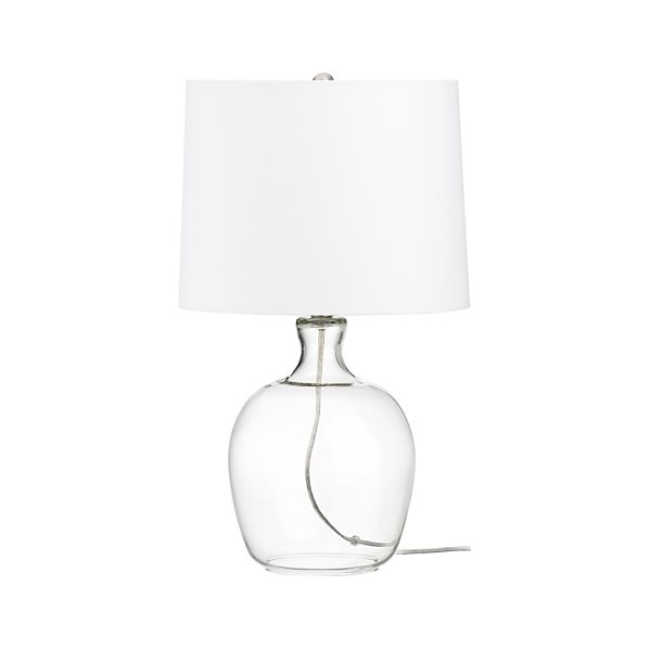 Clarity Clear Table Lamp