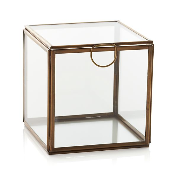 Clarus Small Square Box