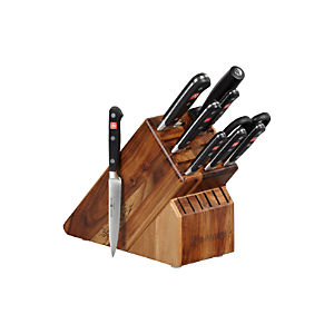 Wüsthof® Classic 10-Piece Knife Block Set
