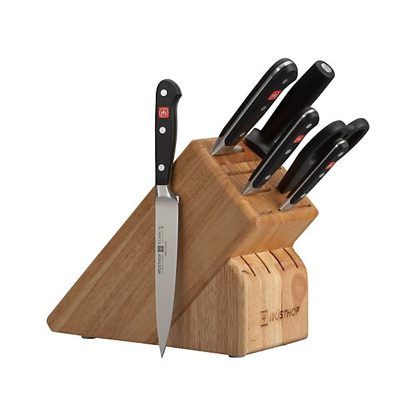 Wüsthof® Classic 7-Piece Knife Block Set