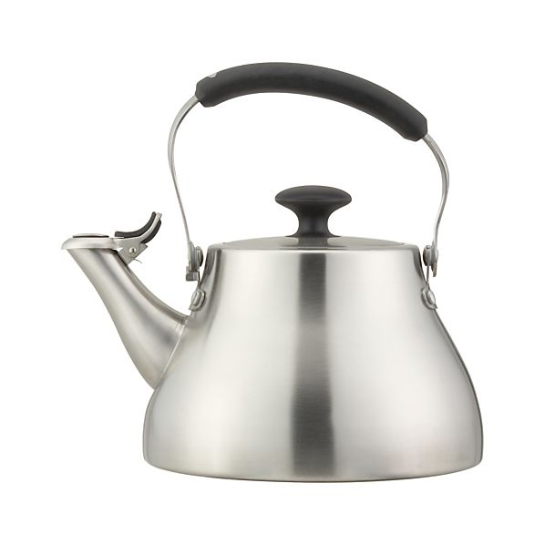 OXO ® Classic Brushed Stainless Teakettle