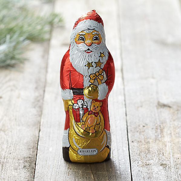 Classic Large Chocolate Santa