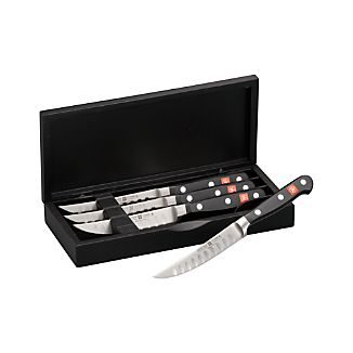 Wüsthof ® Classic Hollow Edge Steak Knives Set of Four