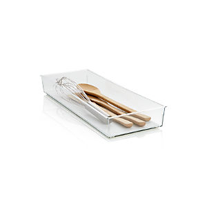 Madesmart ® Clear 16x6 Drawer Bin