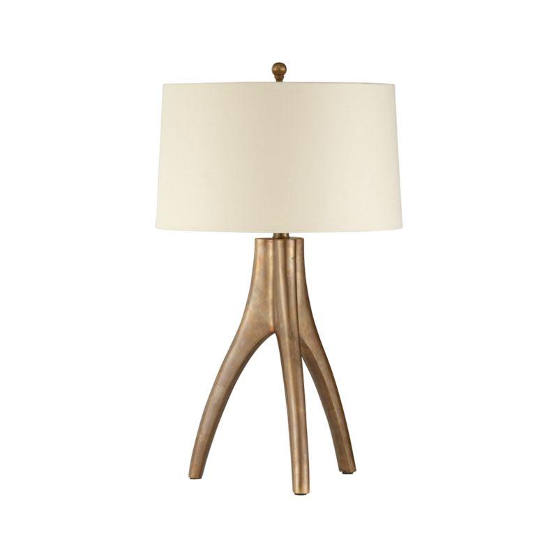 cleo table lamp crate and barrel. Black Bedroom Furniture Sets. Home Design Ideas