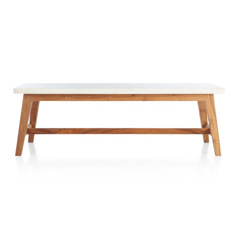 Crate And Barrel Black Marble Coffee Table: Cliff Coffee Table In Coffee Tables & Side Tables