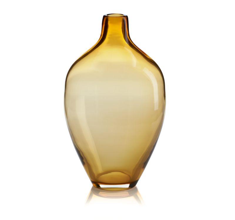 Clio Amber Vase