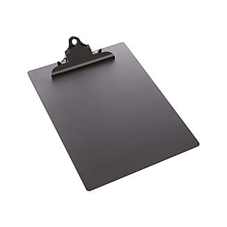 three by three® Black Chalkboard Clipboard