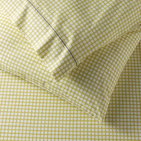 Set of 2 Clover Bamboo Pillowcases