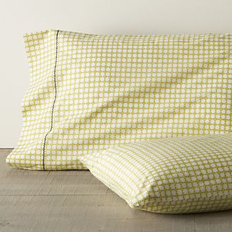 Set of 2 Clover Bamboo King Pillowcases